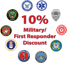 10% Military/First Responder Discount