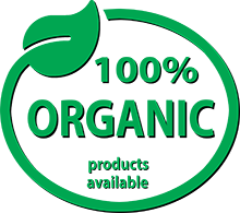 100% Organic Product Available